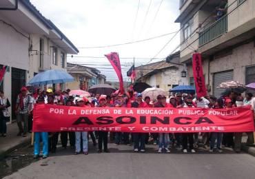 Inicia paro de docentes en el departamento del Cauca