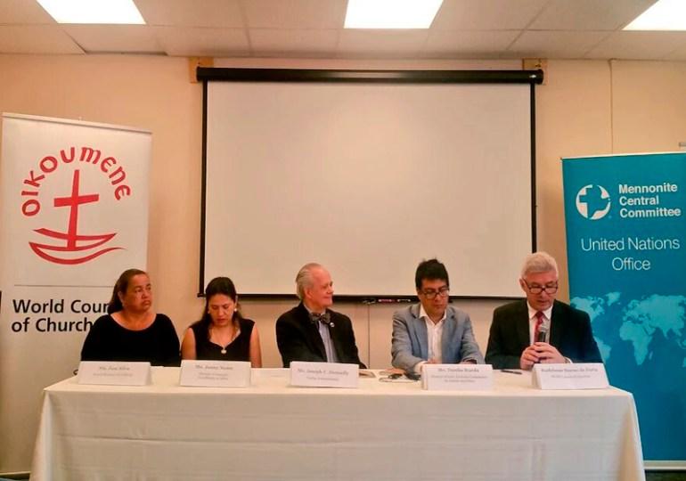 Iglesias y organizaciones de fe de DiPaz acompañarán las Zonas Veredales Transitorias
