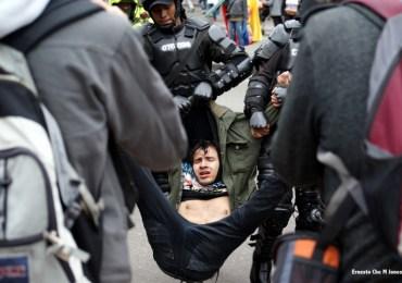 """""""Que se acabe el abuso de autoridad"""" Víctimas de la Policía Nacional"""