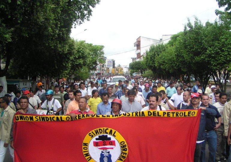 Dirigente de la USO es víctima de atentando en Barrancabermeja