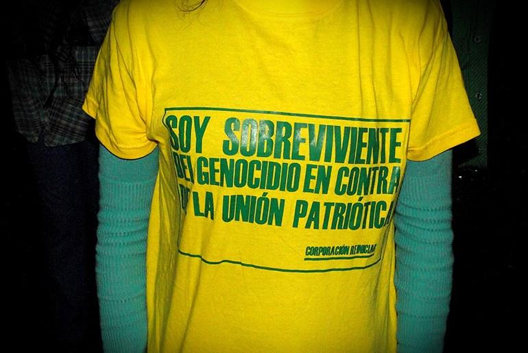 Se conmemora el dia nacional de las víctimas del genocidio contra la UP