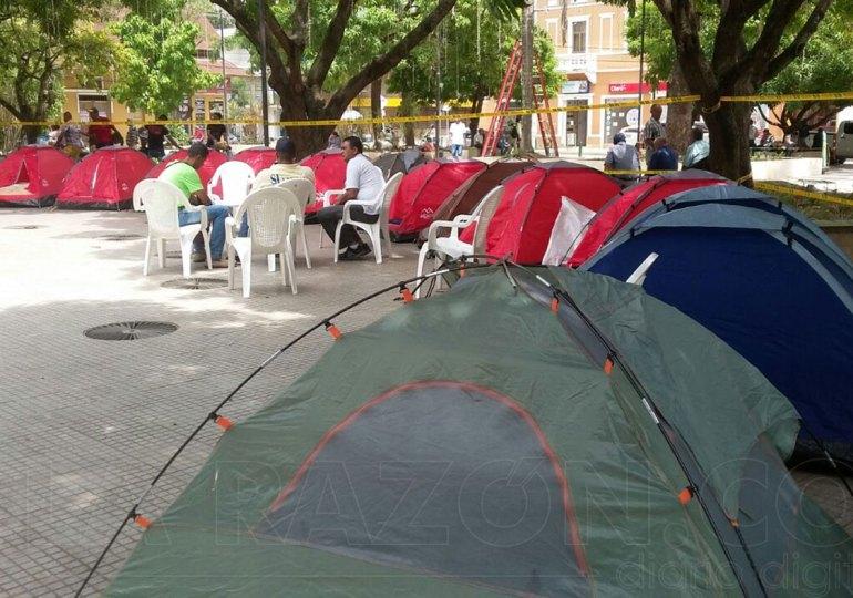 Campamento por la Paz en Montería se levanta por amenazas