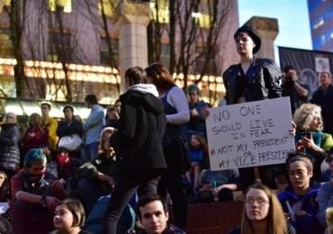 Estudiantes se movilizan en defensa de Inmigrantes en Estados Unidos