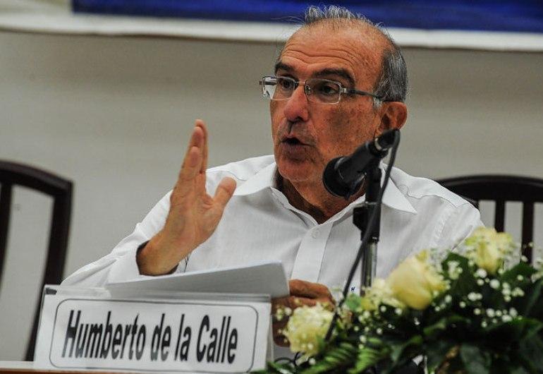 Declaración de Humberto de la Calle sobre nuevo acuerdo de paz