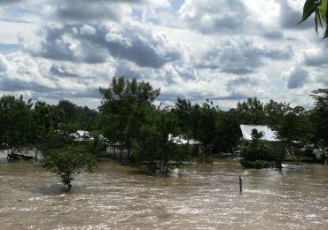 20 familias desplazadas por inundaciones de Hidrosogamoso