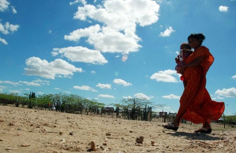 Comunidades Wayuu vuelven a bloquear la vía férrea del Cerrejón