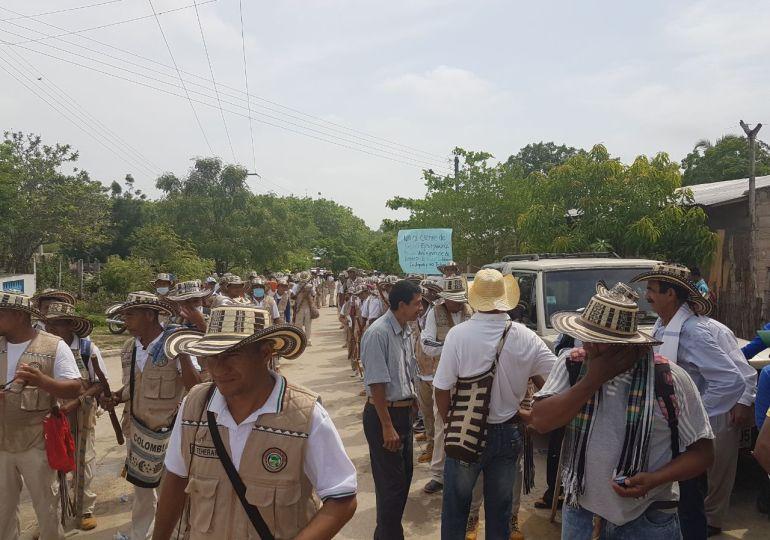 Desmonte de EPS indígena genera protestas del pueblo Zenú en Córdoba y Sucre
