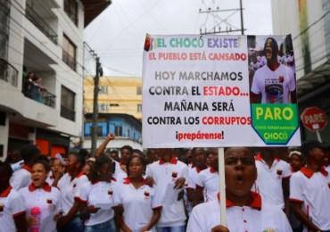 "Chocoanos afirman que no están ""dialogando con un gobierno serio"""