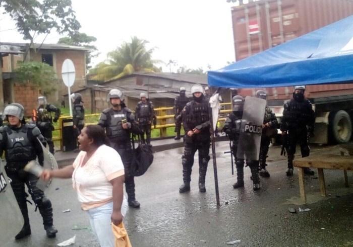 Hasta los niños son víctimas del ESMAD en Buenaventura