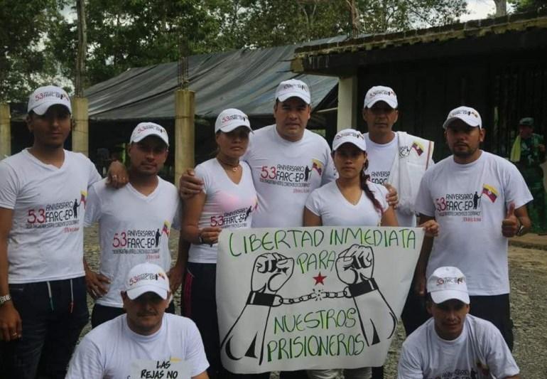FARC pide a organizaciones internacionales trabajar por libertad de presos políticos