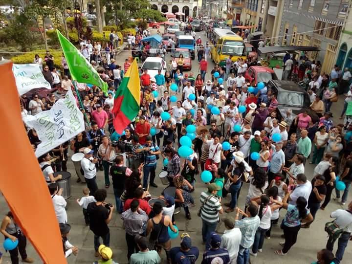Comunidades votaron No a la minería en Pijao y Arbeláez