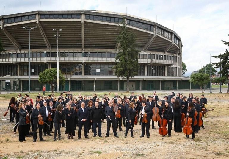 Terreno para Orquesta Filarmónica de Bogotá se convierte en parqueadero