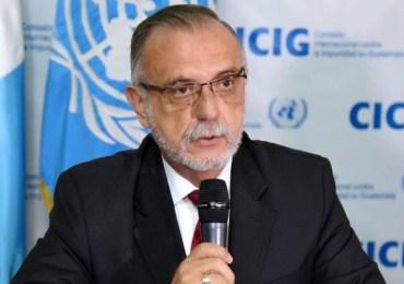 Hay más de 100 investigaciones por corrupción que adelanta Iván Velásquez en Guatemala