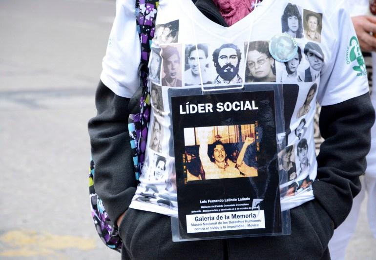 Así conmemora Colombia la semana del Detenido - desaparecido