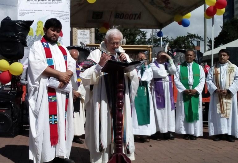 El pedido de perdón de la iglesia después de la visita del papa Francisco