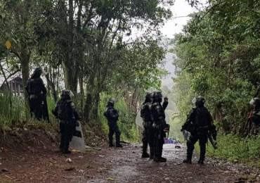 Diez campesinos resultaron heridos en Cauca en medio de Paro Nacional