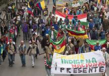 Hay concesiones para petroleras pero no para comunidades: Minga Putumayo