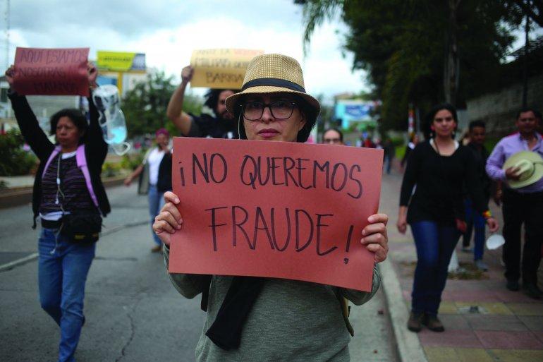 Con paro nacional hondureños desaprueban presidencia de Hernández