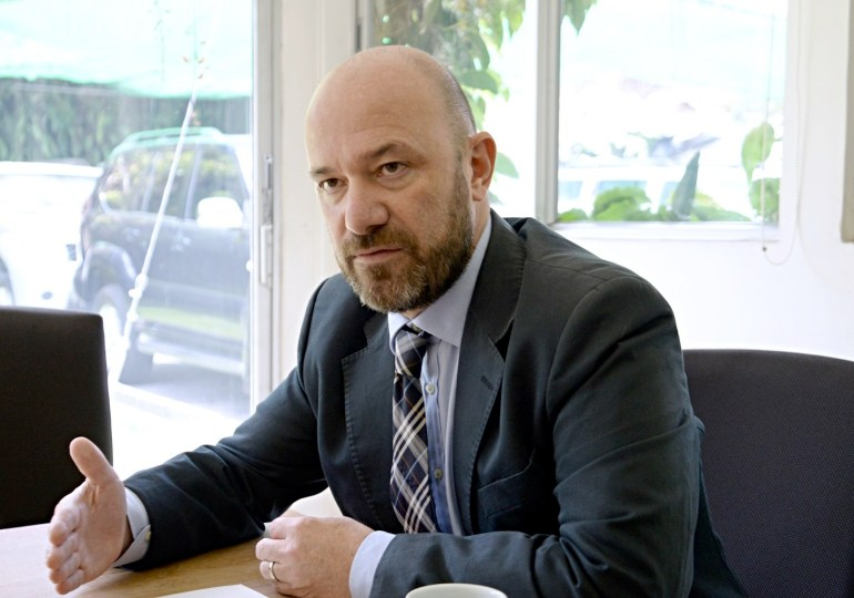 Alberto Brunori nuevo representante de la Oficina del Alto Comisionado de la ONU en Colombia