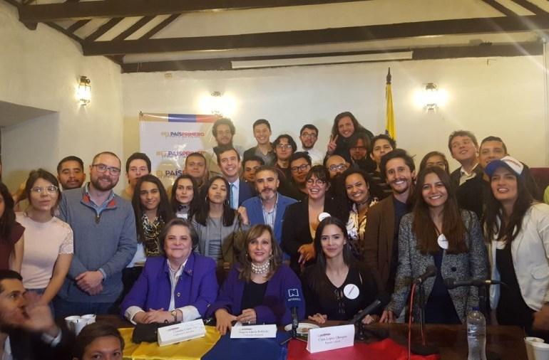 Jóvenes piden una alianza de candidaturas de centro izquierda