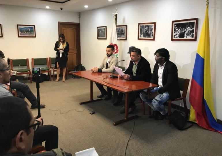 FARC denuncia hostigamientos y amenazas contra sus militantes en Bogotá