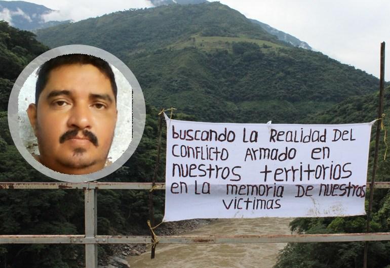 Asesinan a Hugo Albeiro George líder social y afectado por Hidroituango