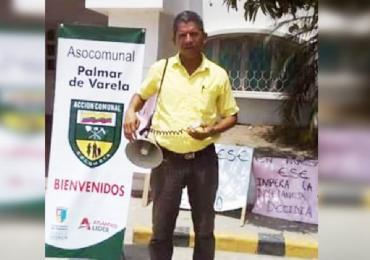 Asesinan a Luis Barrios líder comunal del Palmar de Varela en Barranquilla