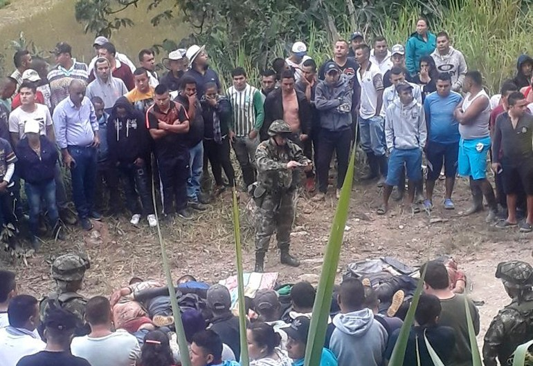 Conmoción en Argelia, Cauca por asesinato de siete personas