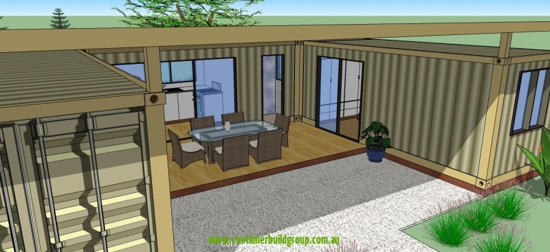 Two Bedroom Modular  Container Homes  PopUp Shops