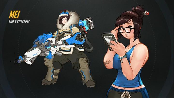 Overwatch-Mei-Character