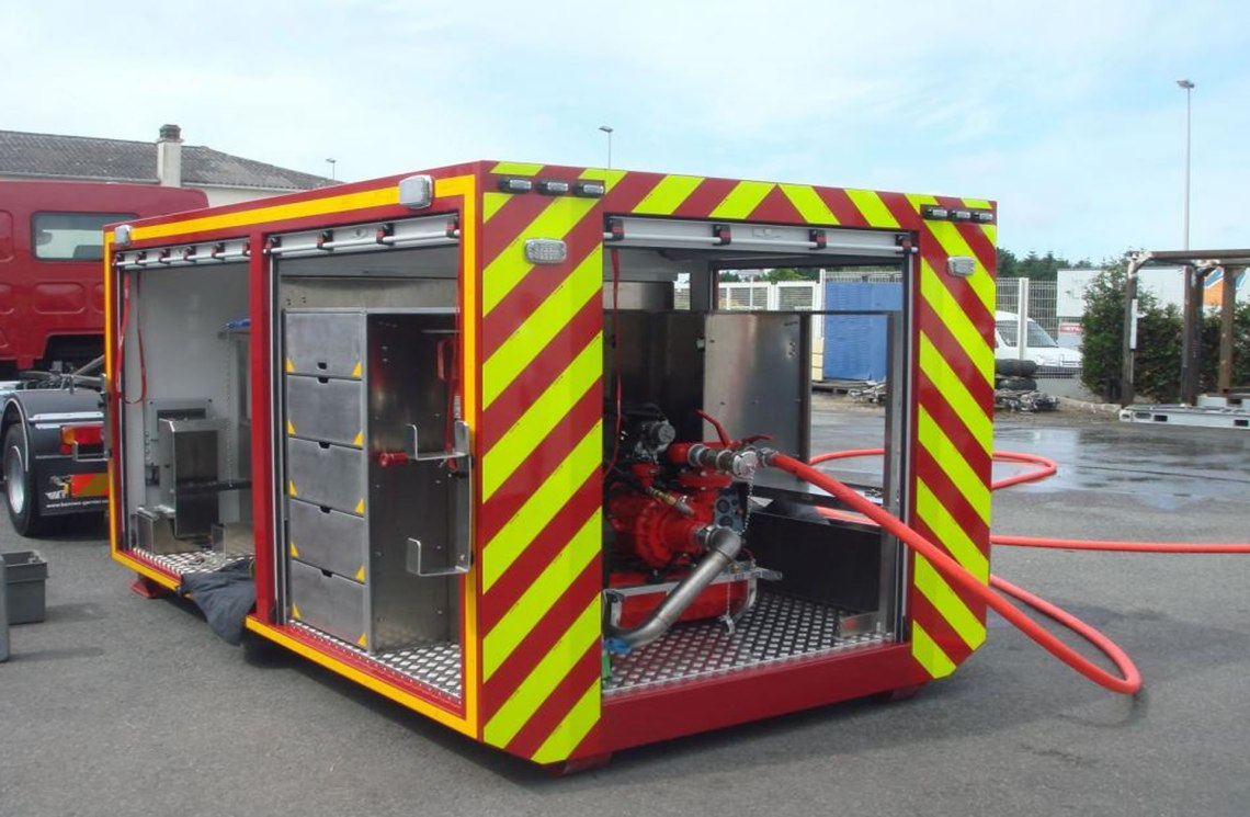 Recycled Shipping Containers - Container King Thailand - Converted Shipping Container Emergency Unit