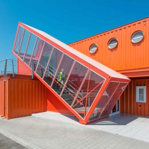 Converted Shipping Container Commercial Unit