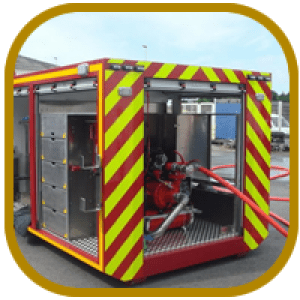 Converted Shipping Containers - Emergency Containers