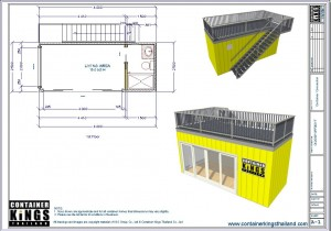 Container Kings Thailand - 20ft Accommodation / Office Unit 002