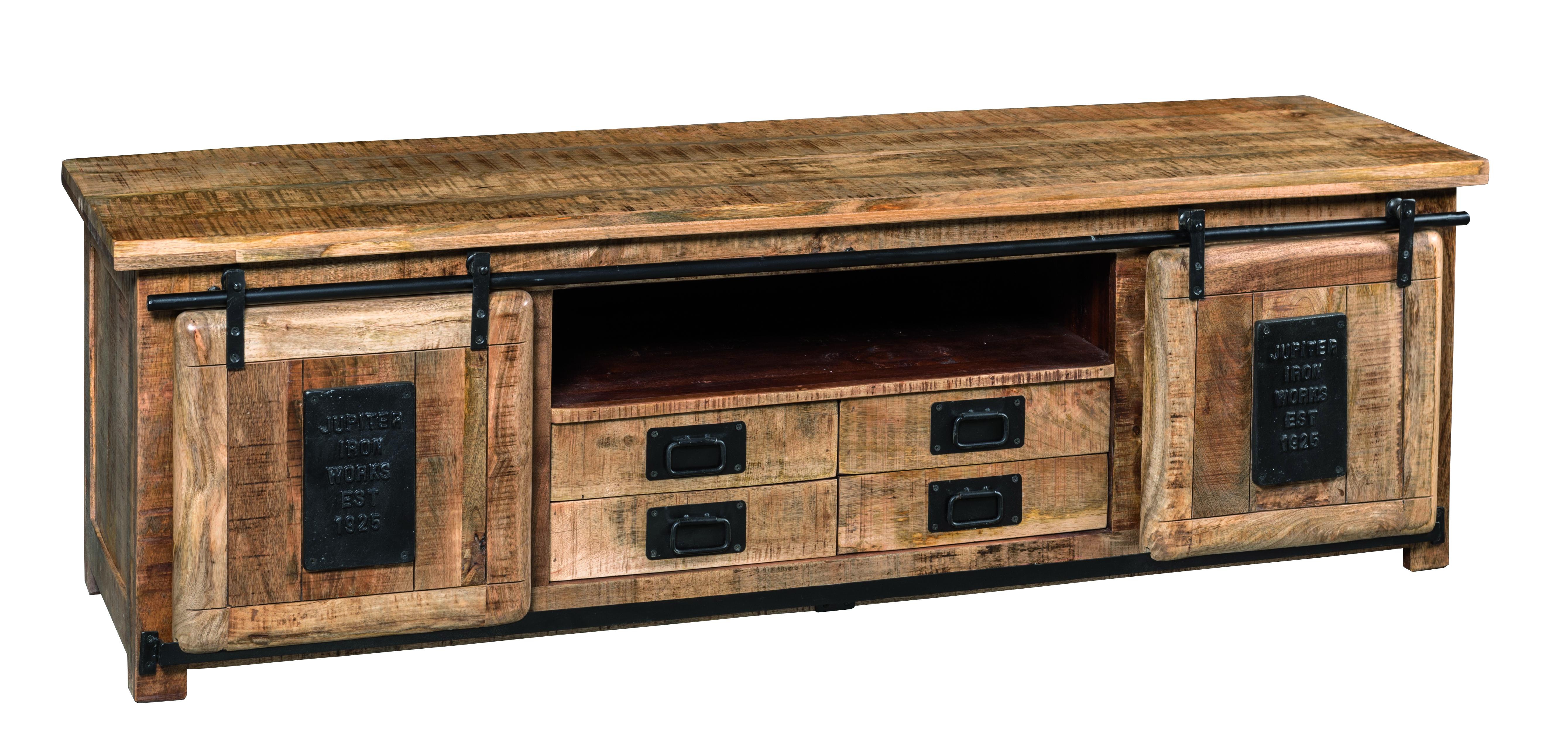 https www containers du monde fr art meuble tv en bois de manguier et metal 180 cm 1821 htm