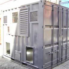 10ft Transformer Enclosure