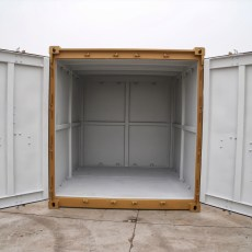 10ft 2.7-1, EN 12079 offshore container - Interior