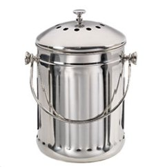 Kitchen Compost Container Best Outdoor Kitchens Stainless Steel Pail The Store