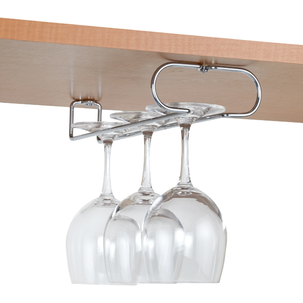 Wine Glass Upside Down Rack