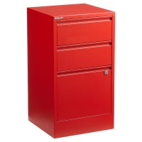 Red Bisley 2- & 3-Drawer Locking Filing Cabinets | The ...