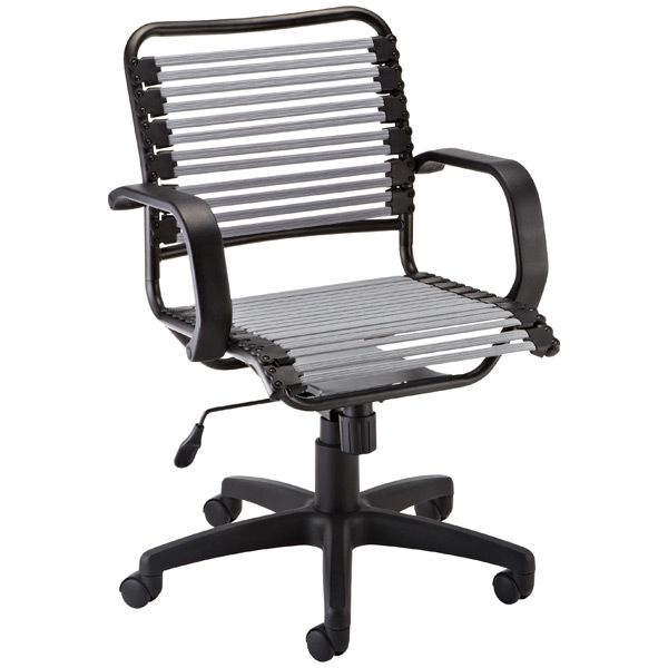 container store chair swing top silver flat bungee office with arms the