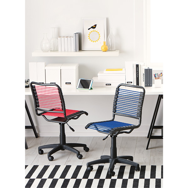 container store chair cool office mats blue bungee the