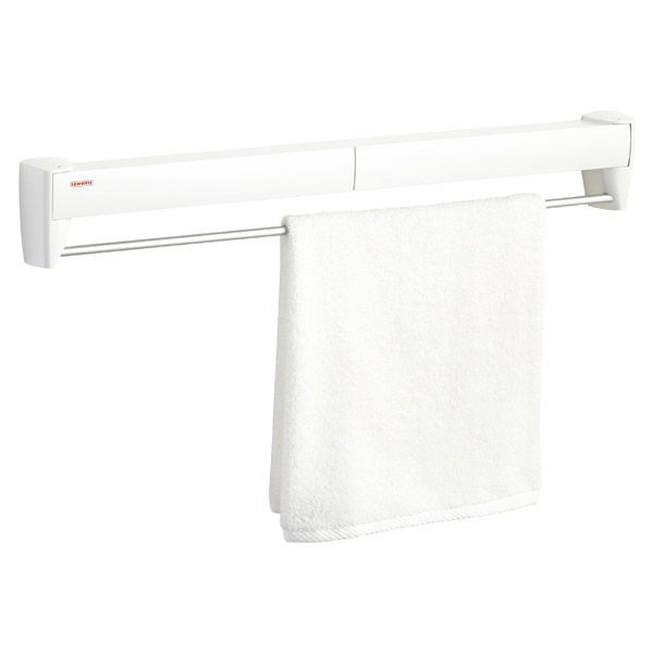 fold away wall mounted clothes drying rack