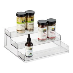 Kitchen Spice Rack Cottage Style Cabinets Interdesign Linus Racks The Container Store