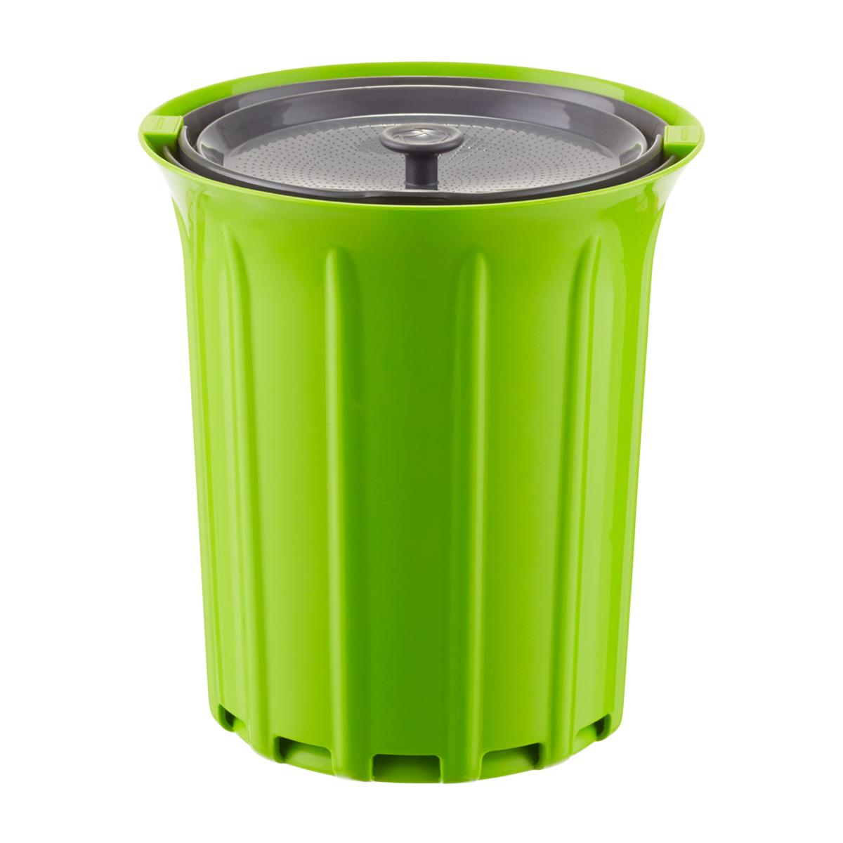 full circle 3 4 qt breeze countertop compost bin the container