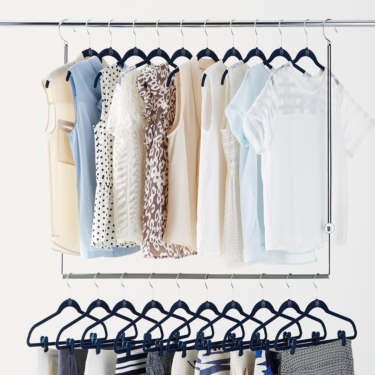 umbra dublet adjustable closet rod expander