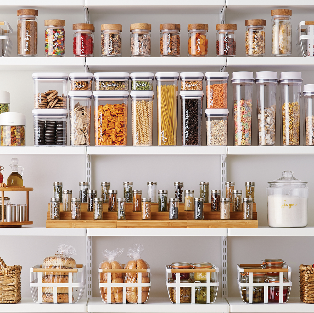 Pantry Shelves Starter Kit  The Container Store
