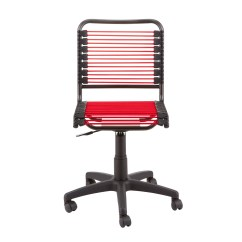 Container Store Chair And Half Rocker Recliner Bungee Black Office The Red