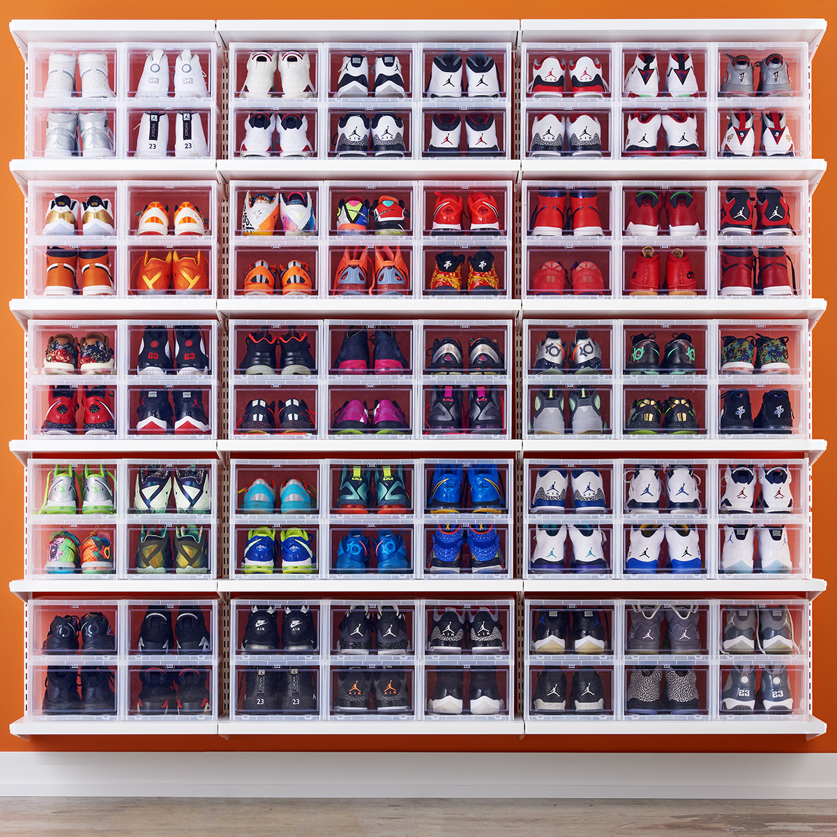 Tall Slim Shoe Rack