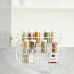 Pull Out Spice Rack Rubbermaid Pull Down Spice Rack The Container Store